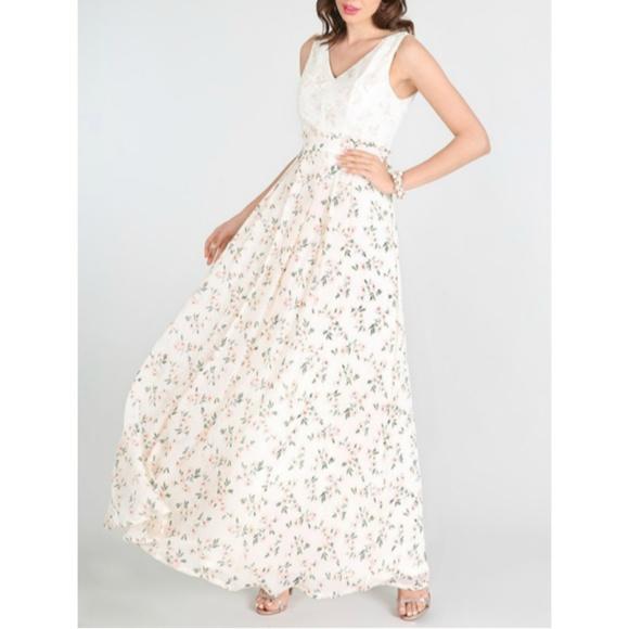 Nikibiki Dresses & Skirts - Chiffon Floral Maxi Dress